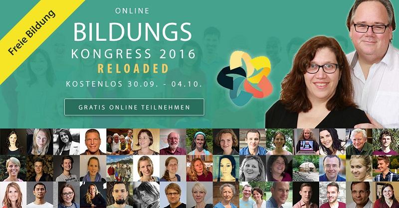 1. internationaler Online-Bildungskongress - Für freies Lernen und freie Bildung